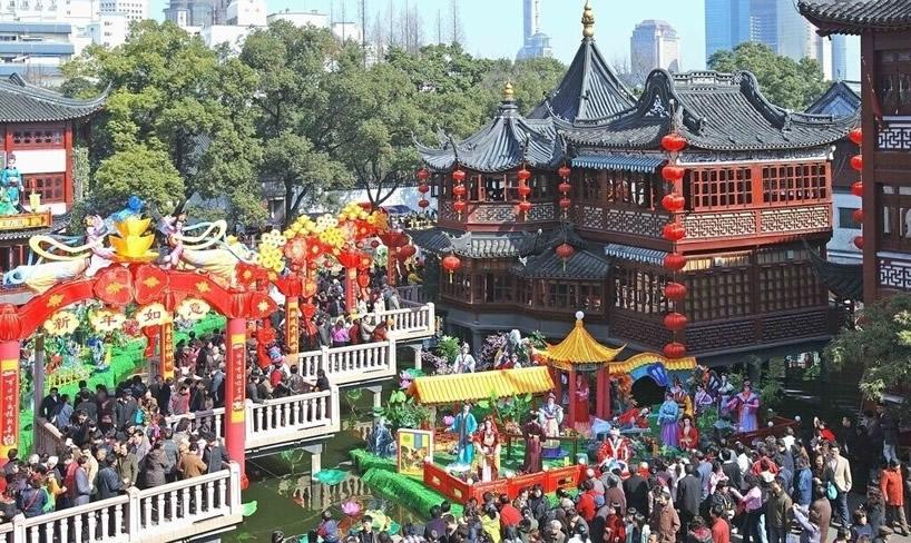2011上海城隍庙元宵花灯展-1