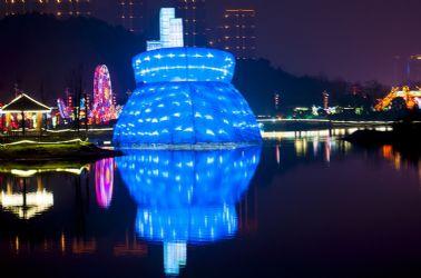 2013贵阳迎春大型灯展