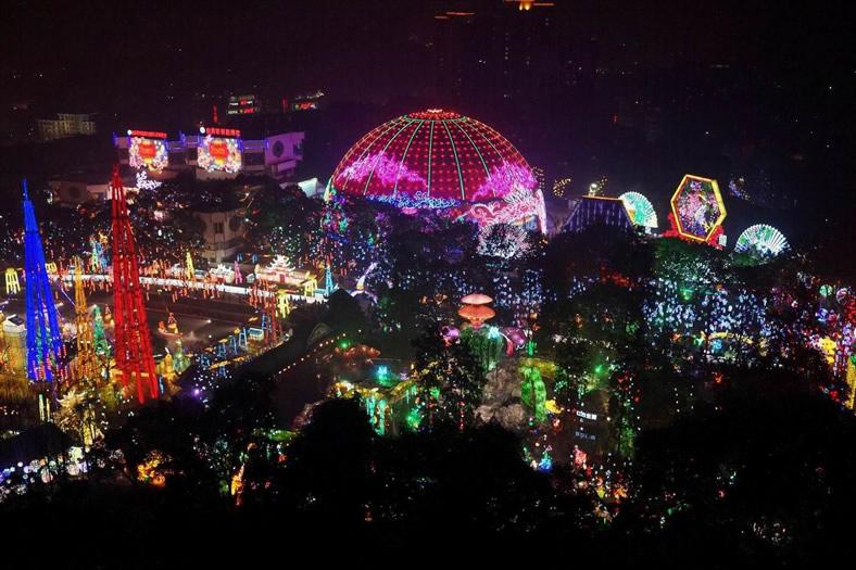 2013自贡国际恐龙灯会-1