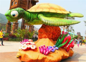 大海龟彩车